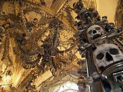 sedlec Церковь из человеческих костей