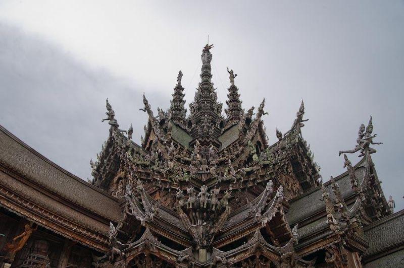 sanctuary of truth 02 Оплот тайского зодчества   Святилище Истины