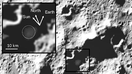 Cabeus На Луне были обнаружены залежи воды, золота и серебра