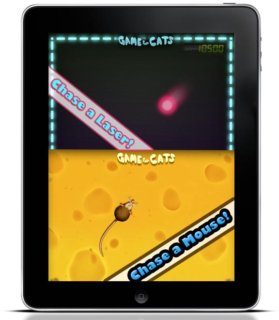 ipad game cats Ipad Game for Cats: Первая в мире видео игра для кошек