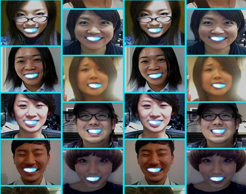 LED smile 1 Светодиодная улыбка