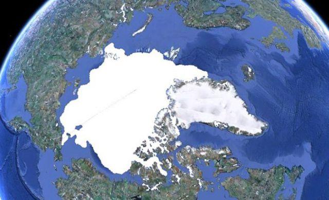 north pole then 1 Глобальное потепление: Северный полюс тогда и сейчас