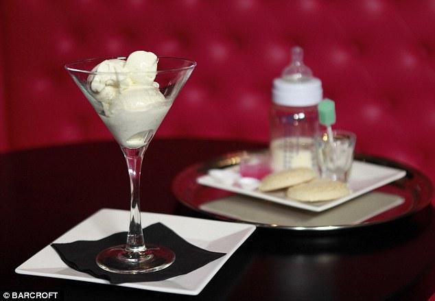 Breast Milk Ice Cream 2 Мороженное из грудного молока