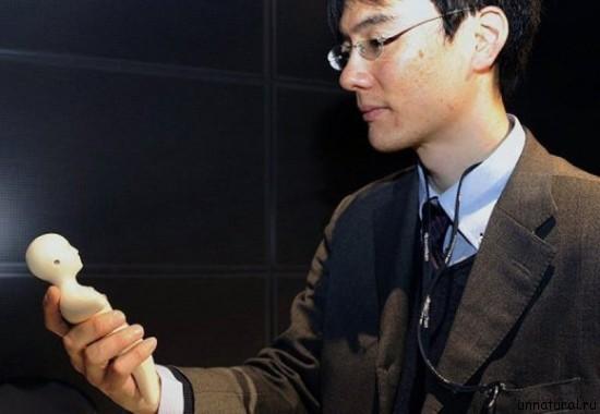 dollphone 1 Куклофон   японский мобильный телефон, способный передавать чувства и эмоции вашего собеседника