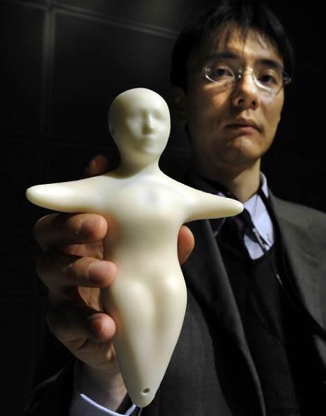 dollphone 2 Куклофон   японский мобильный телефон, способный передавать чувства и эмоции вашего собеседника