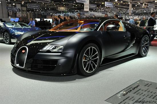 Bugatti Veyron 16.4 Super Sport 1 Самый дорогой автомобиль в мире