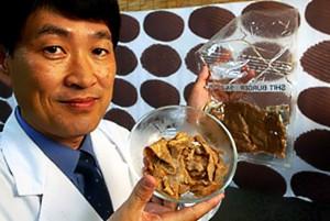 ikeda shit meat 300x201 Японский изобретатель создал искусственное мясо из человеческих экскрементов