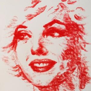 Natalie Irish kiss paint 1 300x300 Художница нарисовала потрясающую картину при помощи собственных губ