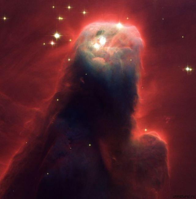 Cone Nebula 11 самых удивительных и невероятных фотографий, сделанных космическим телескопом Хаббл