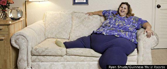 Pauline Potter Самая тяжелая женщина в мире
