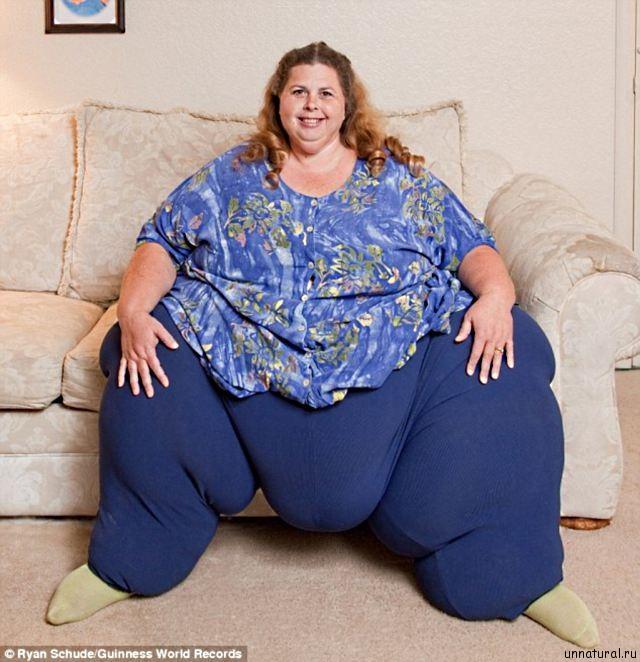 Pauline Potter 1 Самая тяжелая женщина в мире