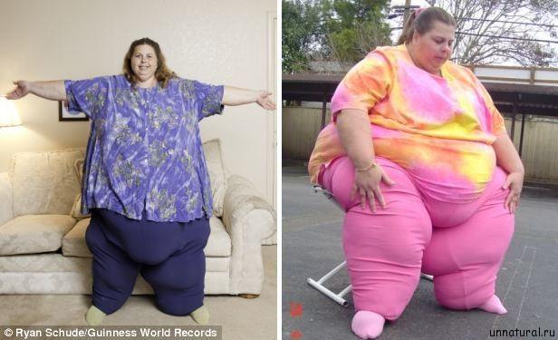 Pauline Potter 2 Самая тяжелая женщина в мире