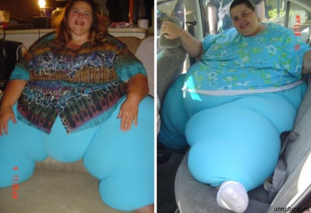 Pauline Potter 3 Самая тяжелая женщина в мире