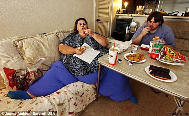 Pauline Potter 4 Самая тяжелая женщина в мире