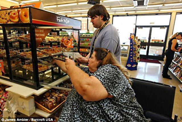 Pauline Potter 6 Самая тяжелая женщина в мире
