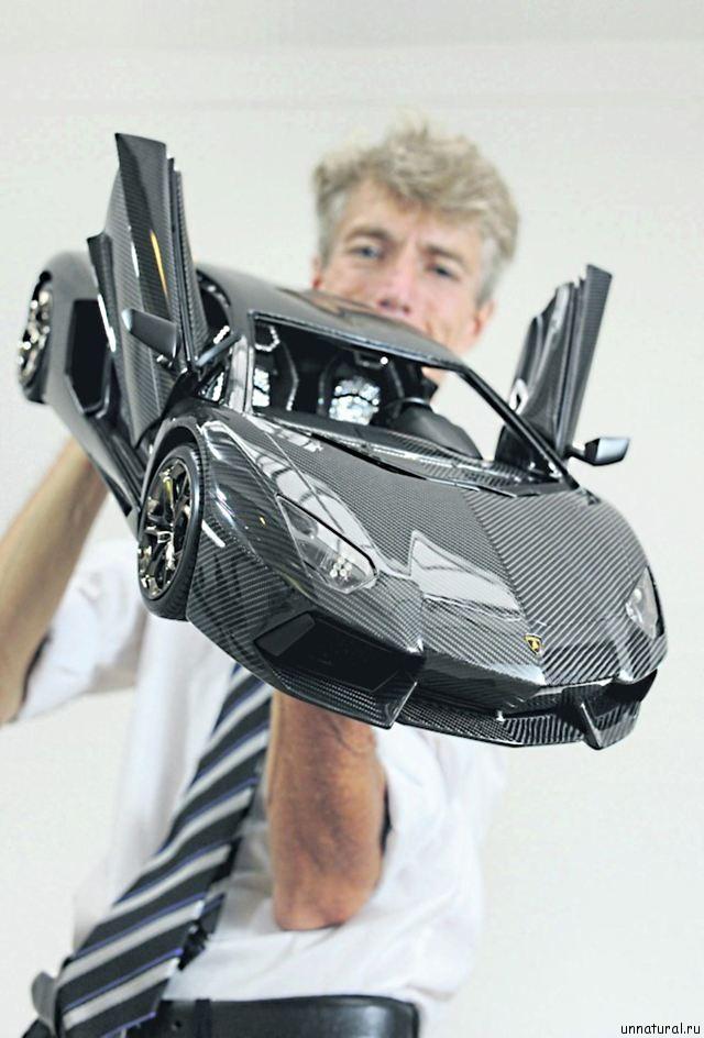 most expensive car model 2 Самая дорогая миниатюрная копия автомобиля Lamborghini Aventador стоимостью 186 миллионов рублей