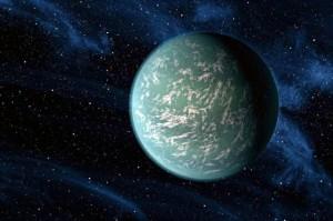 Kepler 22b 300x199 Ученые НАСА заявили об обнаружении потенциально обитаемой планеты