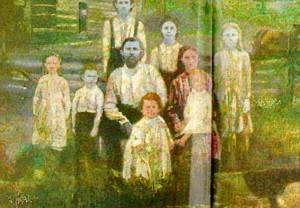 Fugate family 1 300x208 Тайна синих человечков: история одной семьи из Кентукки, члены которой посинели в результате межродственного скрещивания
