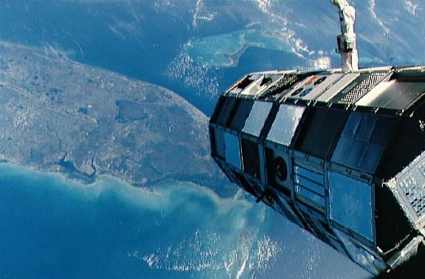 LDEF Распределение космического мусора. Часть III