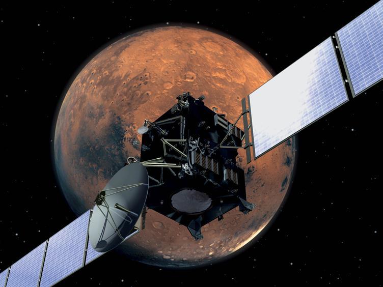 071812 1348 1 Кто соберет межпланетный корабль на орбите и полетит на Марс?