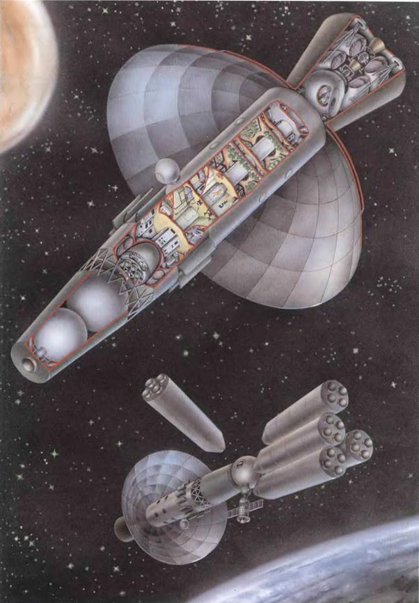 072412 1225 fgh9 Ракета носитель H1 — основа марсианского проекта Королева