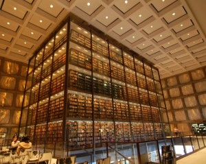 beinecke rare book library yale 300x239 Крупнейшая библиотека самых редких книг и рукописей