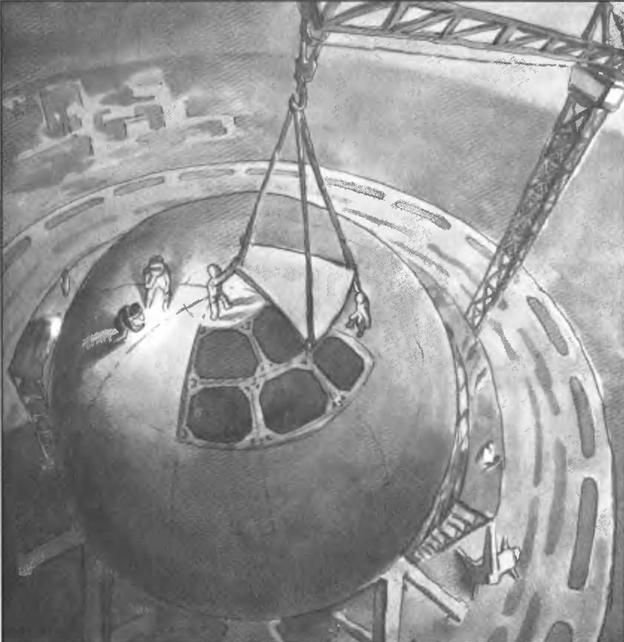 060113 1015 8 Научная фантастика начала XX века как основной пропагандист идеи полета человека в космос. Часть IV