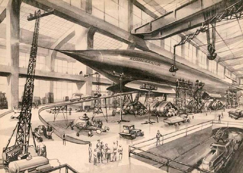 061913 1141 11 Писатели фантасты, пропагандировавшие полет человека в космос в середине XX века. Часть 3