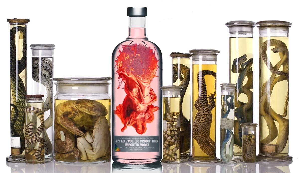 NassSammlung Самые необычные алкогольные напитки мира