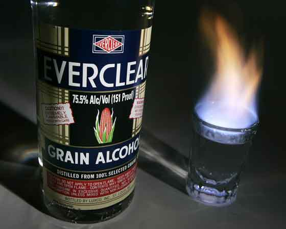 everclear Самые необычные алкогольные напитки мира