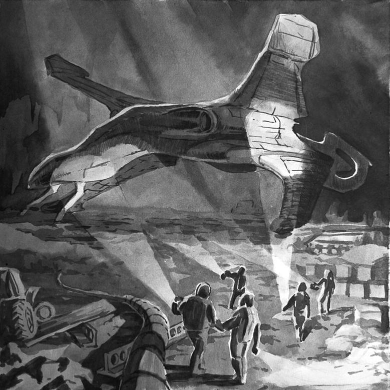 070713 2033 11 Фантастические произведения – главные популяризаторы идеи существования внеземной жизни. Часть II