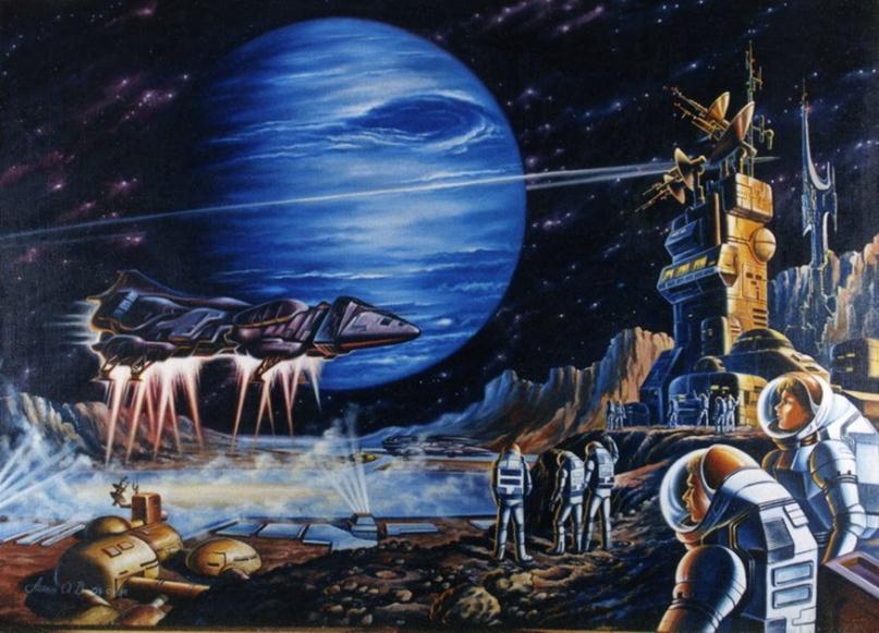 071013 1418 12 Фантастические произведения – главные популяризаторы идеи существования внеземной жизни. Часть VI