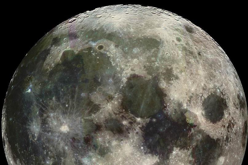 021914 1519 4 Наличие летучих соединений, а также серы и углерода в приэкваториальных областях Луны. Часть II