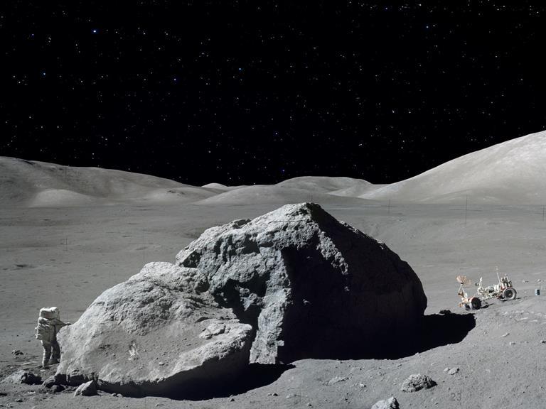 041014 1800 10 Исследования состава лунных пород и наличия лунных ресурсов. Часть IV