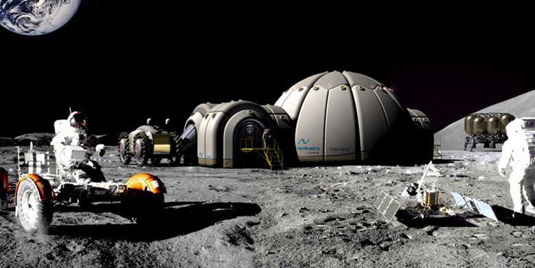 043014 2217 13 Материально производственный потенциал Луны в преодолении экологических кризисов Земли. Часть II