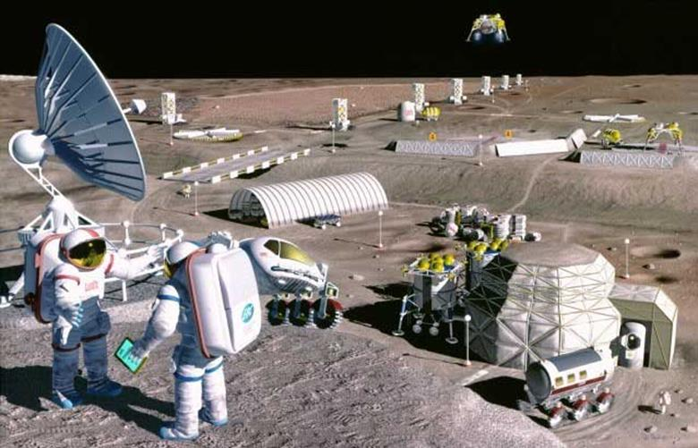 043014 2217 14 Материально производственный потенциал Луны в преодолении экологических кризисов Земли. Часть II