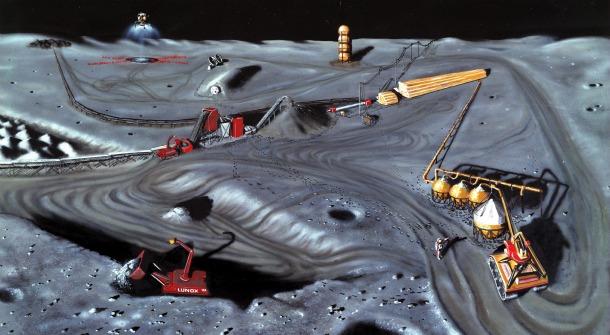 3 Добыча гелия 3 из лунного грунта с использованием солнечной тепловой энергии. Продолжение