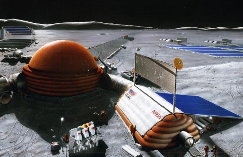 121814 1948 4 Лунная база и поселения второго и последующих этапов освоения Луны. Часть II