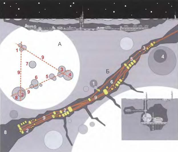 121814 1948 5 Лунная база и поселения второго и последующих этапов освоения Луны. Часть II