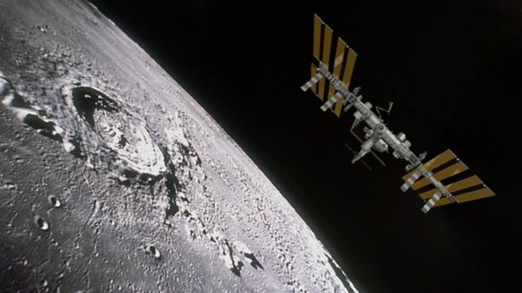122414 2102 4 Возможность создания космопорта в окололунном пространстве. Часть II