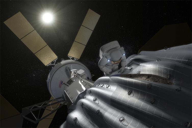122414 2102 7 Возможность создания космопорта в окололунном пространстве. Часть III