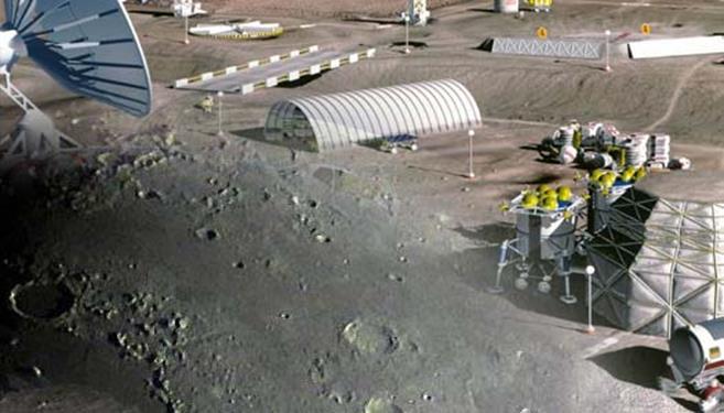 012315 1418 4 Повышение эффективности транспортных операций и оценка грузопотоков на первых этапах освоения Луны. Часть I
