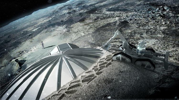 012315 1418 5 Повышение эффективности транспортных операций и оценка грузопотоков на первых этапах освоения Луны. Часть I