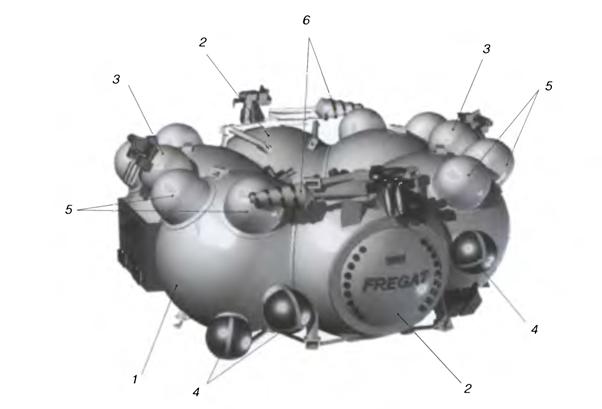 020915 1452 6 Освоение Луны: малый разгонный блок на основе жидкостного ракетного двигателя
