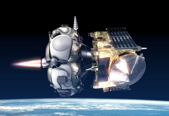 020915 1452 7 Освоение Луны: малый разгонный блок на основе жидкостного ракетного двигателя