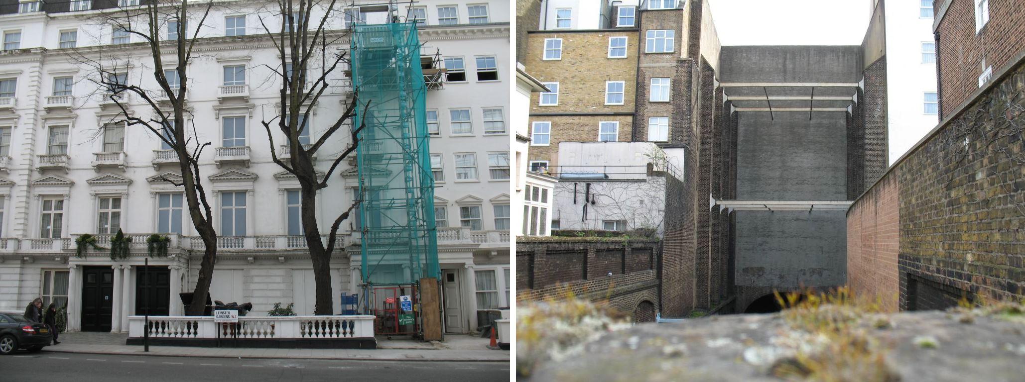 2 Фальшивые здания