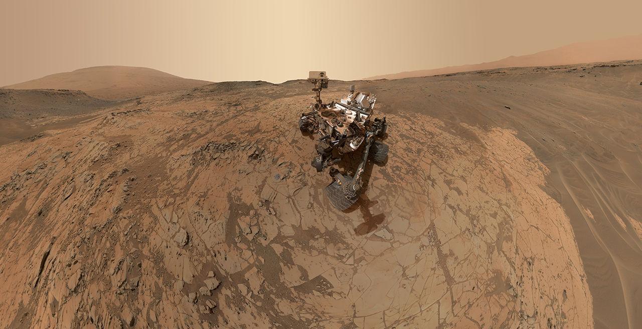 111 На Марсе обнаружена соленая вода в жидком виде