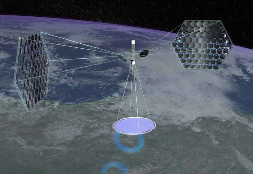 072215 1803 4 Космические солнечные электростанции на базе лазерного канала передачи энергии