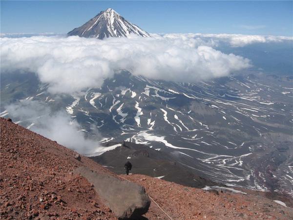2 Авачинский вулкан