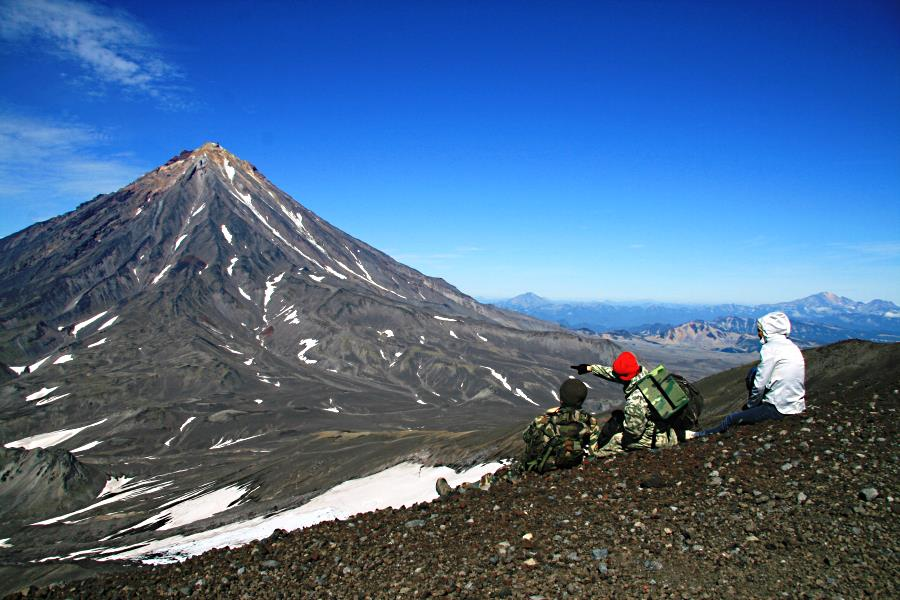 3 Авачинский вулкан